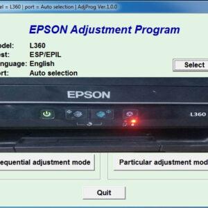 epson l360 adjustment program download